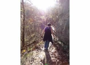 mom hike